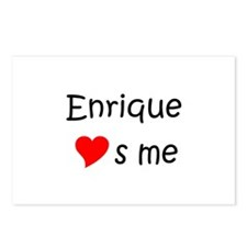 Funny Enrique Postcards (Package of 8)