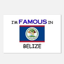 I'd Famous In BELIZE Postcards (Package of 8)