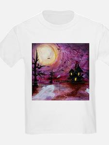 Unique Haunted house T-Shirt