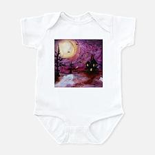 Unique House night Infant Bodysuit