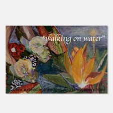 Walking on Water Postcards (Package of 8)