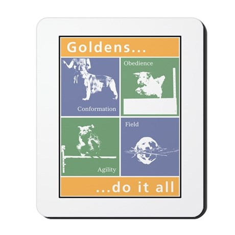 Goldens Do It All Mousepad