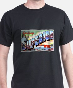 Superior Wisconsin Greetings (Front) T-Shirt