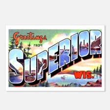 Superior Wisconsin Greetings Postcards (Package of