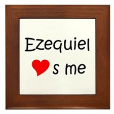 Unique Ezequiel Framed Tile