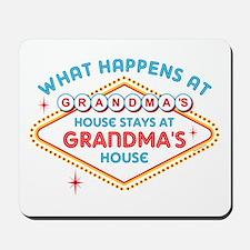 Las Vegas Stays At Grandma's Mousepad