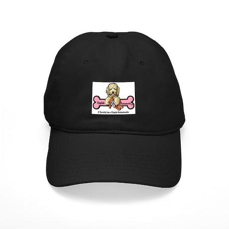 Goldendoodle Logo Black Cap
