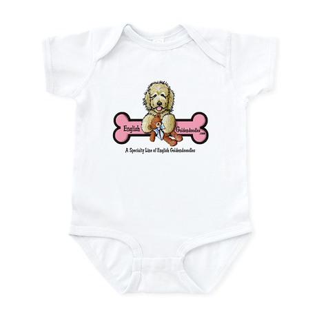 Goldendoodle Logo Infant Bodysuit