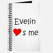Cute Evelin Journal