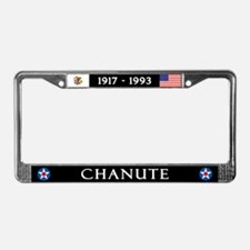 Chanute Air Force Base License Plate Frame