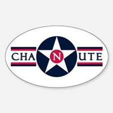 Chanute Air Force Base Oval Decal