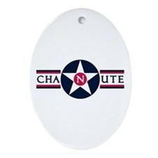 Chanute Air Force Base Oval Ornament