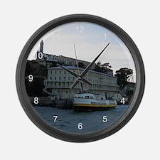 Alcatraz Island 4 Large Wall Clock