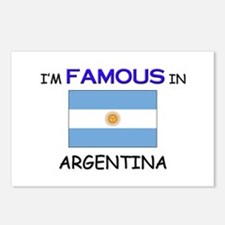 I'd Famous In ARGENTINA Postcards (Package of 8)