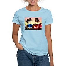 Miami Women's Pink T-Shirt