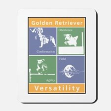 Golden Versatility Mousepad