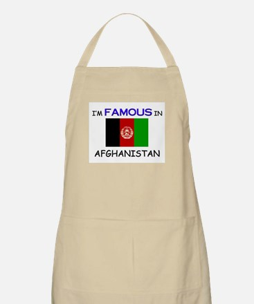 I'd Famous In AFGHANISTAN BBQ Apron