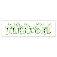 Herbivore Bumper Bumper Sticker