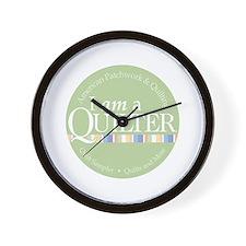 I am a Quilter Wall Clock