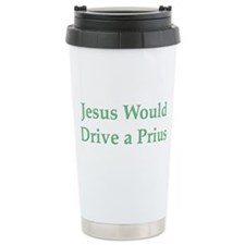 Jesus and Prius Travel Mug