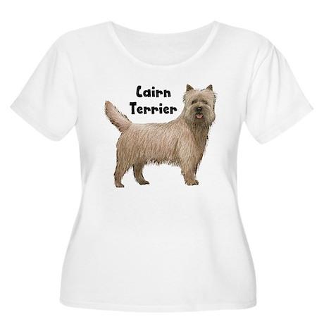 Cairn Terrier Women's Plus Size Scoop Neck T-Shirt