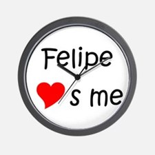 Unique Felipe Wall Clock