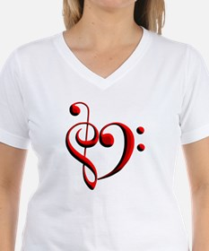 Clef Heart Shirt