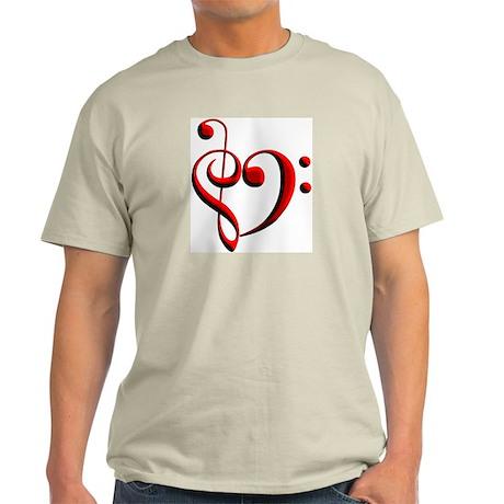 Clef Heart Light T-Shirt