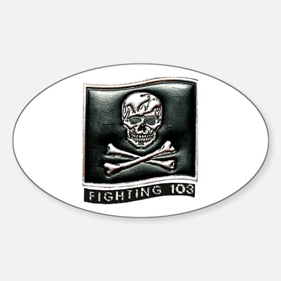 Jolly Rogers VFA-103 Oval Decal
