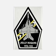 VFA 103 Jolly Rogers Rectangle Magnet