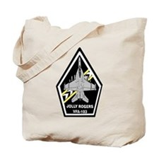VFA 103 Jolly Rogers Tote Bag