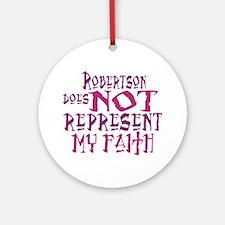 Robertson, not my faith. Keepsake (Round)