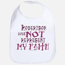 Robertson, not my faith. Bib