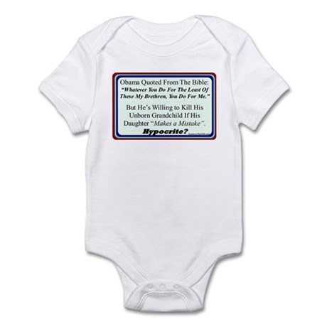 """Hypocrite?"" Infant Bodysuit"