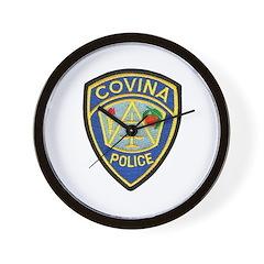 Covina Police Wall Clock
