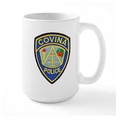 Covina Police Large Mug