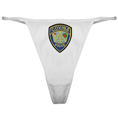 Covina Police Classic Thong