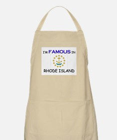 I'd Famous In RHODE ISLAND BBQ Apron