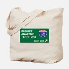 Budget, Analysis Territory Tote Bag