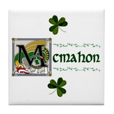 McMahon Celtic Dragon Tile Coaster