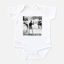 Western Movies Infant Bodysuit