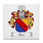 Amici Family Crest Tile Coaster