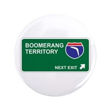 "Boomerang Territory 3.5"" Button (100 pack)"