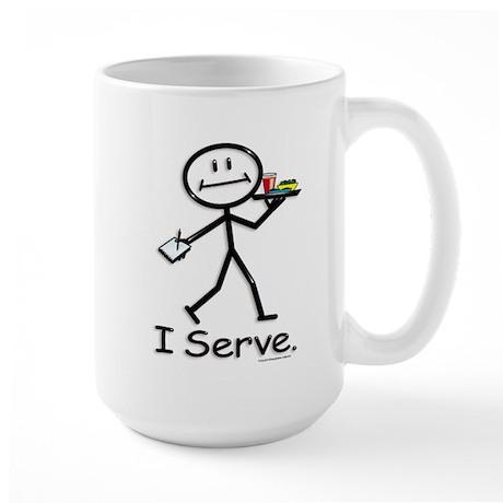 BusyBodies Server Large Mug