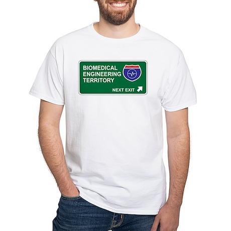 Biomedical, Engineering Territory White T-Shirt