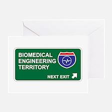 Biomedical, Engineering Territory Greeting Card