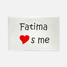Unique Fatima Rectangle Magnet