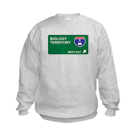 Biology Territory Kids Sweatshirt