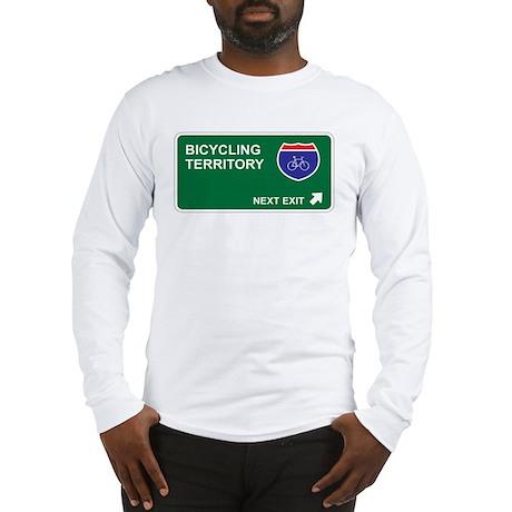 Bicycling Territory Long Sleeve T-Shirt