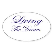 Living the Dream Purple Decal